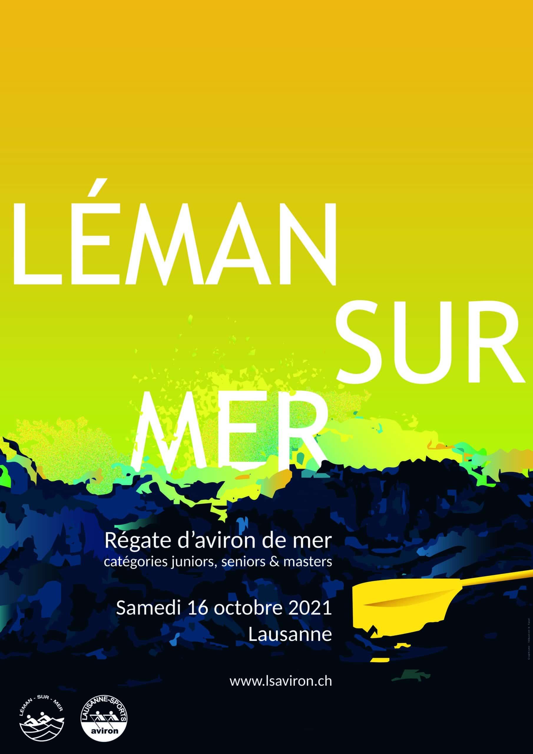Léman sur mer, régate d'aviron sur le Léman