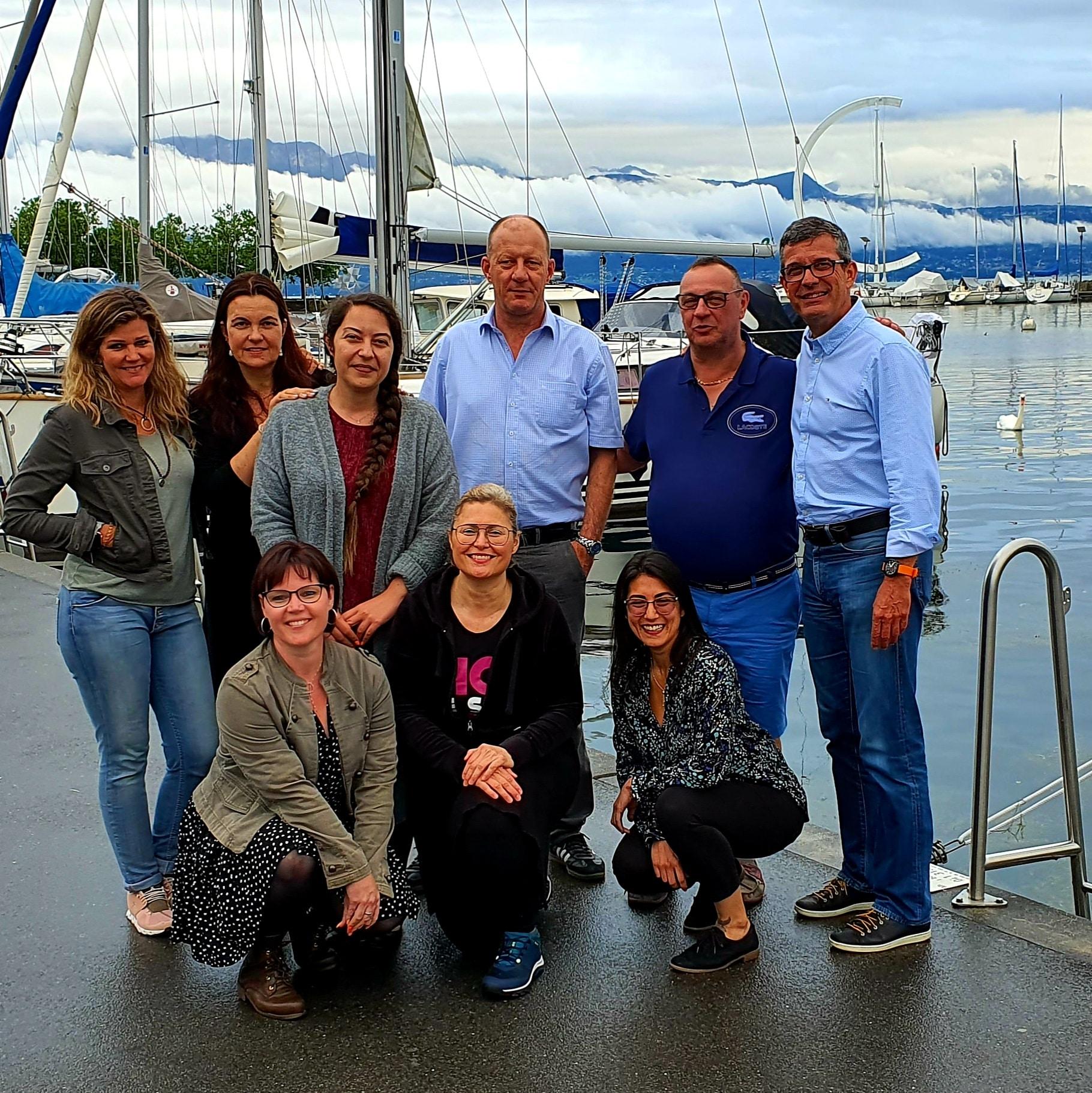 Comité SDIO 2021 - Société de Développement des Intérêts d'Ouchy, Place de la navigation à Lausanne-Ouchy